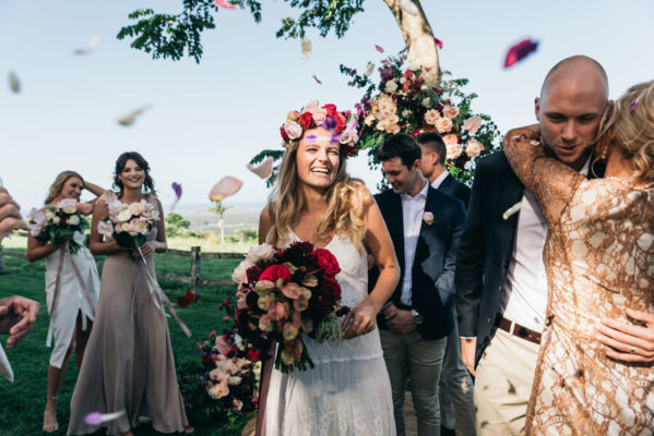 byron view farm hinterland venue wedding photographer byron bay wedding 599x400 - I only do it once a day