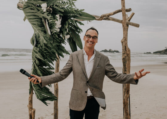 Celebrant Byron Bay e1602647665273 559x400 - The 5 reasons you didn't know why you need me, as your professional MC